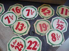 // #type #tag #vintage #price