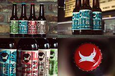 #beer #craft #branding #letterpress