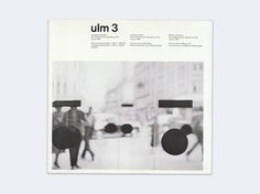 Display | Journal of the Hochschule fur Gestaltung ulm 3 | Collection #magazine #ulm #1950s