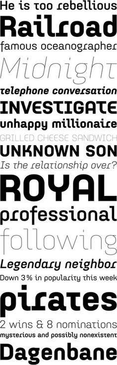 Idealista by Tomáš Brousil #font #suitcase #serif #sans #geometric #type #typography
