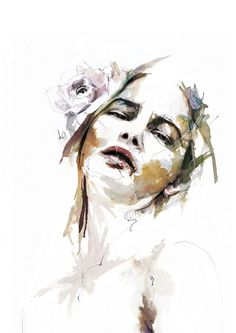 Amazing Portrait Illustrations by Florian Nicolle #amazing #florian #illustrations #portrait #nicolle