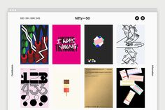Nifty—50 by Socio Design #web #website