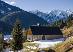 Alpine Holiday Home on a Steep Alpine Slope in Italy: Z House
