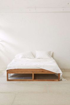 Morey Platform Bed. #bed #bedroom #minimal