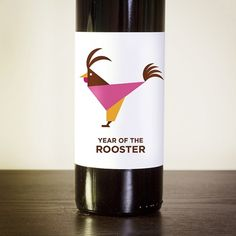 Jag Nagra: Vancouver Graphic Designer and Photographer #rooster #zodiac #wine #chinese #illustration
