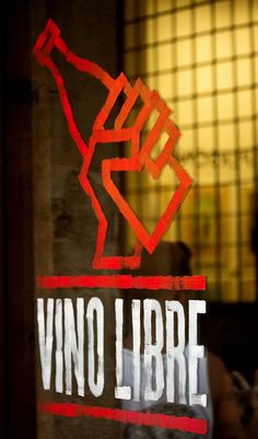 Bar Brutal (Identity, Print) by Lo Siento Studio, Barcelona #typography #hand painted #red #glass #bold
