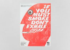 Biman Mullick's anti-smoking posters