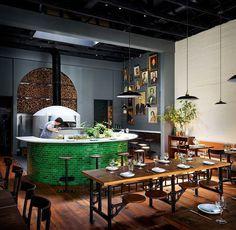 Del Popolo Restaurant by Jessica Helgerson Interior Design