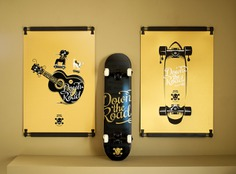Sérigraphie Skate Pirate Richie Jackson #screenprint #poster #skateboard