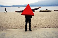 David Lang's Photos - Profile pictures #photography #red #triangles