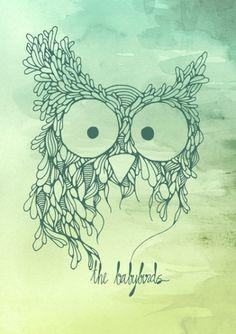 The Babybirds Owl 02 Art Print by The Babybirds | Society6