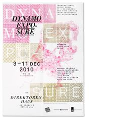 Design Fodder (Dynamo Expo poster by Studio Laucke Siebein.) #poster #layers