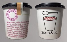 Soup & Co. branding and packaging #packaging #logo #pattern #branding
