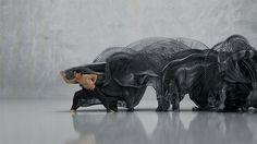 Human Movement Converted Into Digital Sculptures