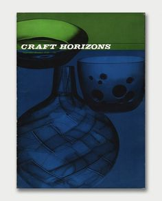 Craft Horizons Magazine, 1950s/1960s / Aqua-Velvet #1959 #cover #craft #overlay #magazine