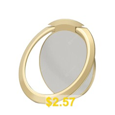 Universal #Ultra-thin #360 #Rotation #Mobile #Phone #Finger #Ring #Stand #- #CHAMPAGNE