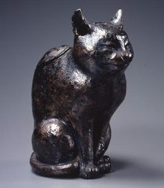 4 | Internet, Meet The Cats Of 19th Century Japan | Co.Design | business + design #sculpture #clay #cat #bronze #japan