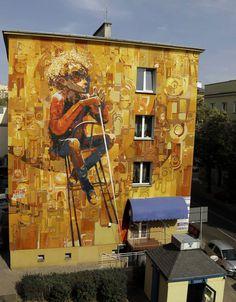 Interview with Robert Proch | Abduzeedo Design Inspiration #graffiti #orange #art #street #character