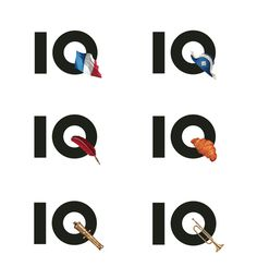 IQ'ball dynamic brand identities #branding #fashion #web design #dynamic identities