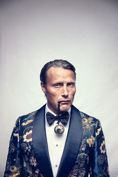 L\\\'Officiel Hommes Magazine by Heiko Richard - Mads Mikkelsen