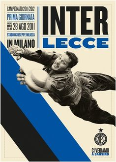 Creative Review - Leftloft scoring for Inter #football #typography
