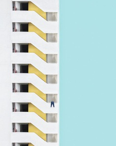 Creative, Colorful and Minimalist Photos of Hong Kong Architecture by Chak Kit