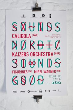 S.N.S.G | We are all in this together #layout #poster #typography