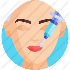 See more icon inspiration related to intervention, aesthetics, plastic surgery, healthcare and medical, anatomy, surgery, beauty, injection, body part, syringe, lips, user, girl, woman and medical on Flaticon.