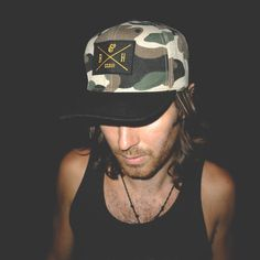 Mercenary #snapback #apparel #camouflage #top #tank #photography #hat #fashion