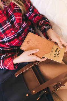 Field Notes notebook leather sleeve by Eighteen32. #leather #logo #notebook #fieldnotes #handmade