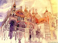 watercolor #skill
