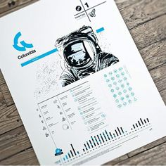 The Fox Is Black » Space Suit of the Week #print #astronaut #info graphic