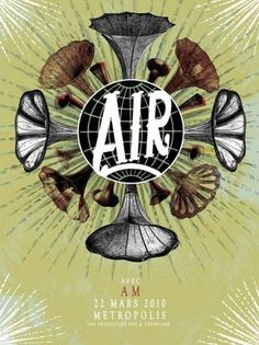 All sizes | DESIGNER: Pat Hamou | Flickr - Photo Sharing! #rock #design #graphic #poster