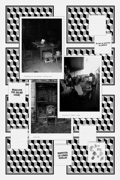 Prada Font Club : Philippe Desarzens / Graphic design #pattern