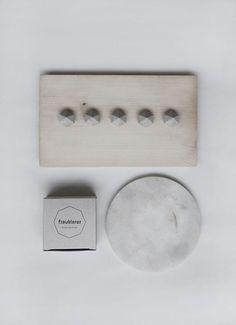 concrete mini diamonds by frauklarer #interior #concrete #styling #mini #diamond #design #decor #home #geometric