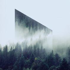 #graphic #landscape #illusion #outdoor #geometric