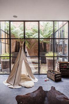 The Design Chaser: Windows + Doors | Steel Framed #interior design #decoration #decor #deco