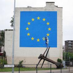 Dover, England. Banksy