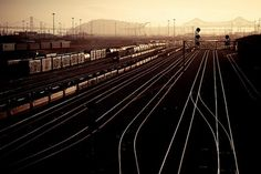 Lush | Flickr - Photo Sharing! #railroad #train #rails #railyard