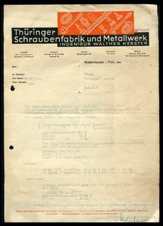 AMASSBLOG #1950 #graphic #letterhead #german #typography