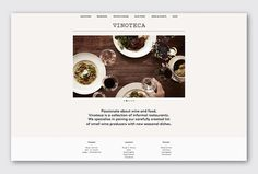 Vinoteca by dn&co #web design #website