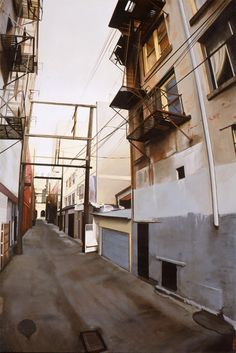 Realistic Urban Paintings by Graeme Berglun_3 #urban #realistic #city #painting #art