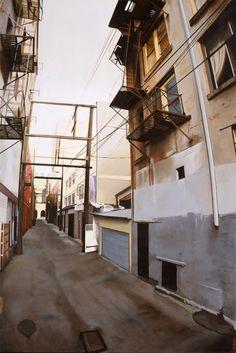 Realistic Urban Paintings by Graeme Berglun_3