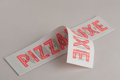 Pizza Luxe designed by Touch #pizza