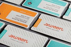 FFFFOUND! | design work life » cataloging inspiration daily #swoon #letterpress #cards #business
