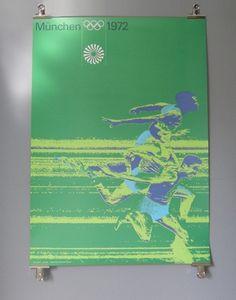 Otl Aicher 1972 Munich Olympics - Posters - Sports Series #1972 #design #graphic #munich