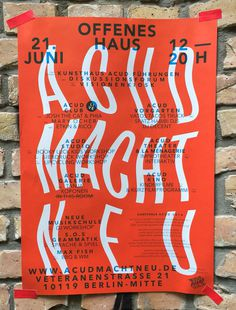 #poster #berlin #plakat #exhibition #type #Typography #graphic design #graphicdesign
