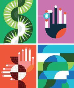 Herman Miller A Better World #illustration