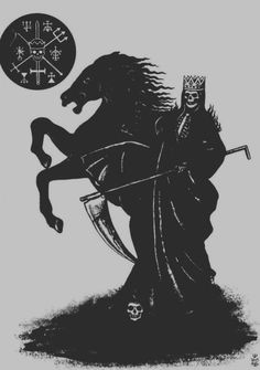 DANIEL J SPINAZZOLA #horse #a #on #death #runes