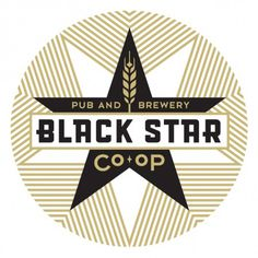 Black Star Co-op #beer #logo